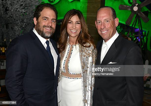 Brett Ratner Arlene Chaplin and Wayne Chaplin attends 20th Annual Intercontinental Miami MakeAWish Ball at Hotel intercontinental on November 1 2014...