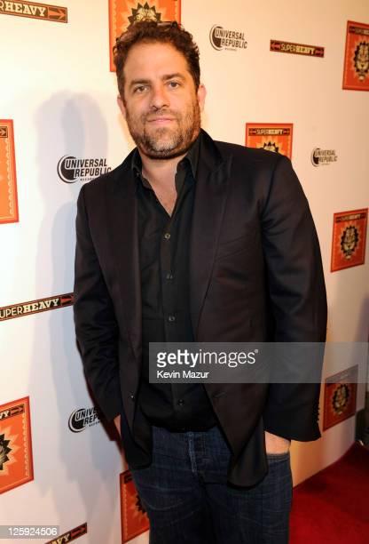 "Brett Ratner celebrates the release of the new CD ""SuperHeavy"" at The Double Seven on September 21, 2011 in New York City."