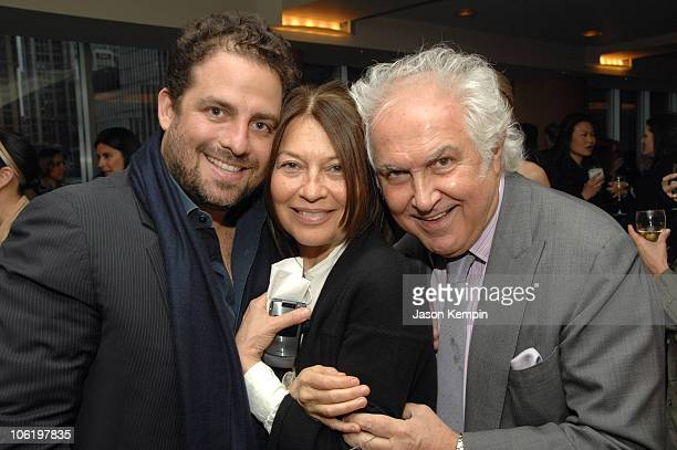 Brett Ratner Jane Wenner and Guest during HBO Documentary Films Screening of Helmut By June April 26 2007 at HBO Theater in New York City New York...
