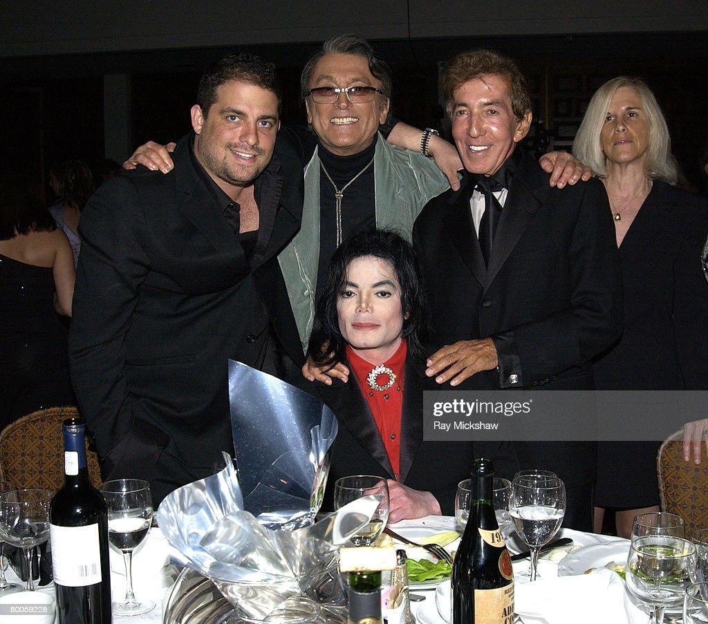 Brett Ratner,Michael Jackson,Robert Evans and Al Malnik Photo d'actualité -  Getty Images