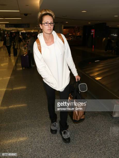 Brett Rossi is seen at LAX on November 08 2017 in Los Angeles California