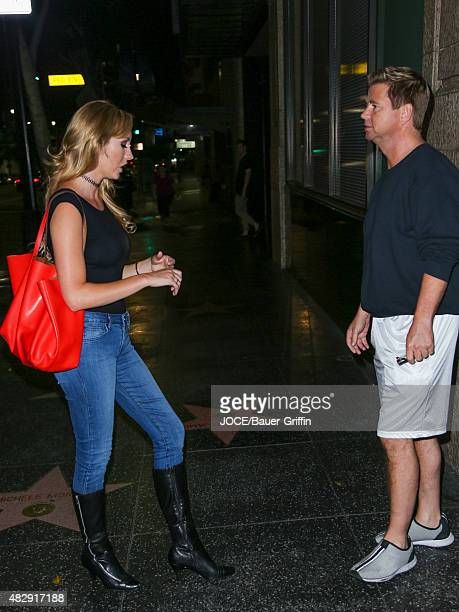 Brett Rossi is seen on August 03 2015 in Los Angeles California