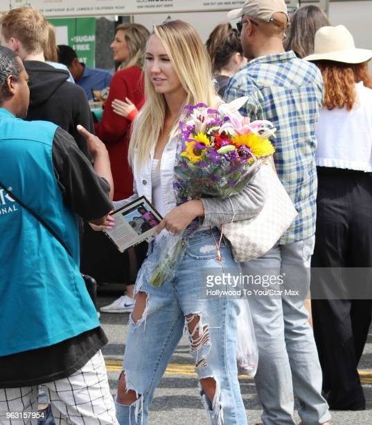 Brett Rossi is seen on May 27 2018 in Los Angeles California