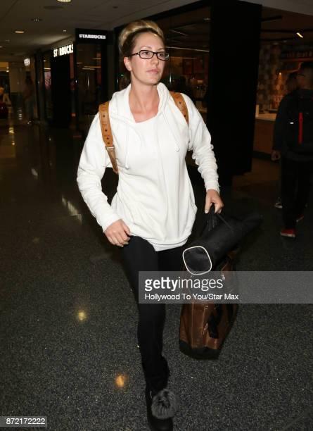 Brett Rossi is seen on November 8 2017 in Los Angeles CA
