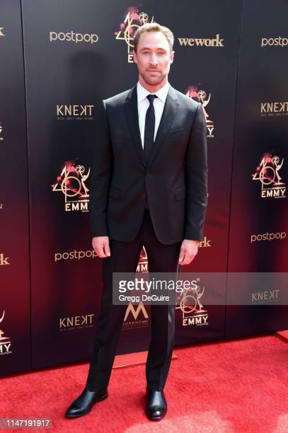 Brett Schneider attends the 46th annual Daytime Emmy Awards at Pasadena Civic Center on May 05 2019 in Pasadena California