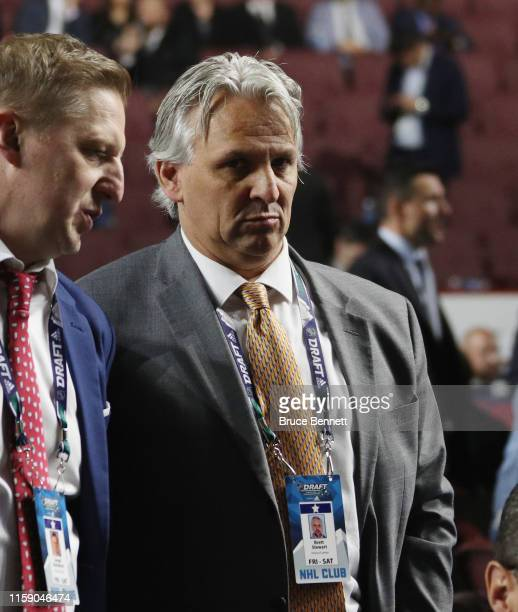 Brett Stewart of the Arizona Coyotes attends the 2019 NHL Draft at the Rogers Arena on June 22 2019 in Vancouver Canada
