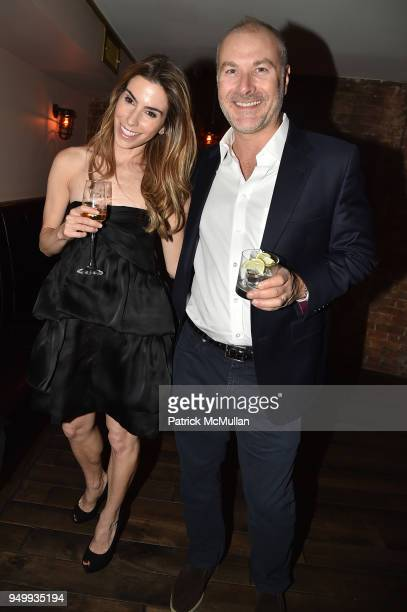 Brett Sundheim and David Schrader attend Billy Macklowe's 50th Birthday Spectacular at Chinese Tuxedo on April 21 2018 in New York City