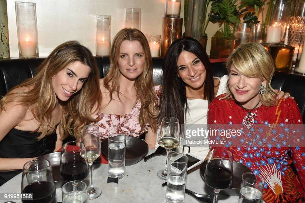 Brett Sundheim Mariel Saffra Guest and Julie Macklowe attend Billy Macklowe's 50th Birthday Spectacular at Chinese Tuxedo on April 21 2018 in New...