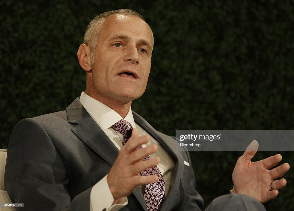 Brett Yormark, chief executive officer of Brooklyn Nets, speaks at the Bloomberg Sports Business Summit in New York, U.S., on Thursday, Sept. 4, 2014. Yormark discussed the New York sports market during a panel. Photographer: Peter Foley/Bloomberg via Getty Images