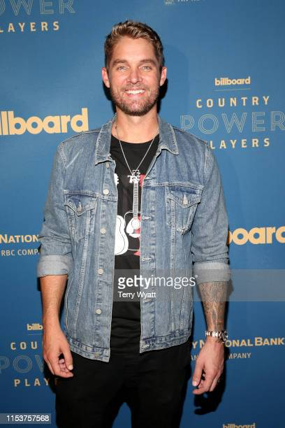 Brett Young attends 2019 Billboard Country Power Players at Stateside Kitchen at The Dream Hotel on June 04 2019 in Nashville Tennessee