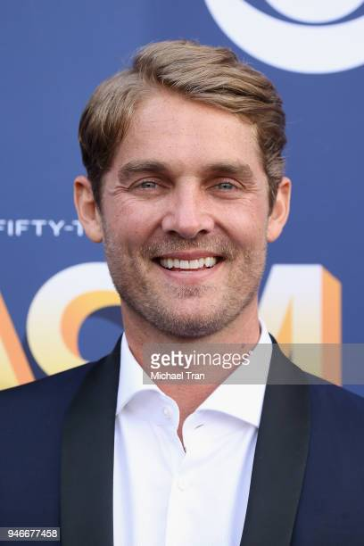 Brett Young attends the 53rd Academy of Country Music Awards at MGM Grand Garden Arena on April 15 2018 in Las Vegas Nevada
