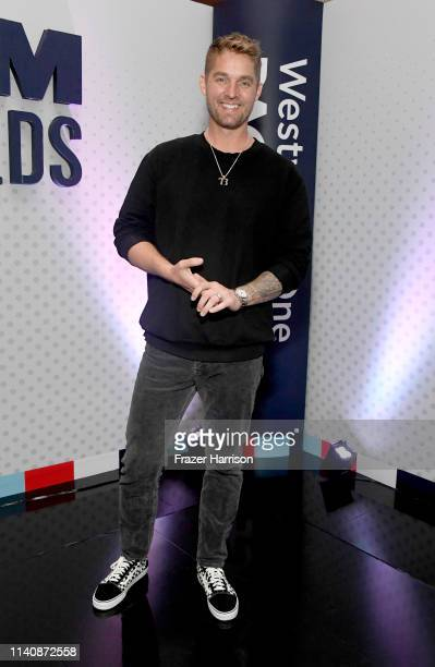 Brett Young attends the 54th Academy Of Country Music Awards Cumulus/Westwood One Radio Remotes on April 06 2019 in Las Vegas Nevada