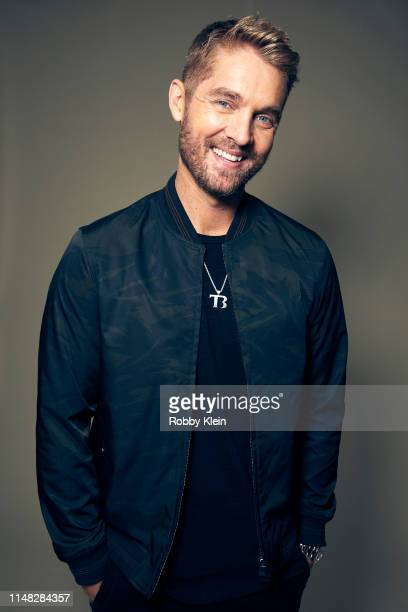 Brett Young poses for a portrait during the 2019 CMT Music Awards at Bridgestone Arena on June 05 2019 in Nashville Tennessee
