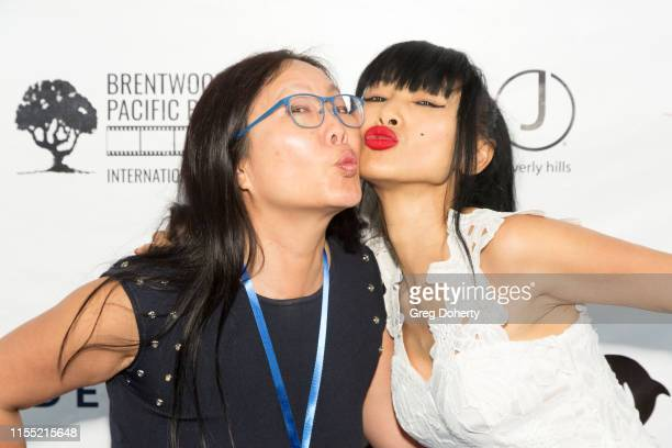 Bretwood and Pacific Palisades International Film Festival Organizer, Joyce Chow and Actress Bai Ling attend the Brentwood and Pacific Palisades...