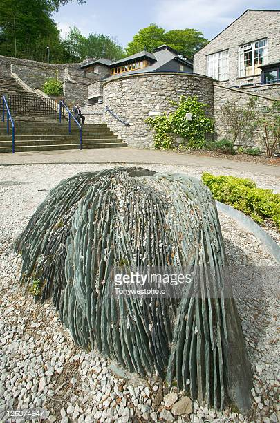brewery arts centre and sculpture, kendal. - brewery stock pictures, royalty-free photos & images