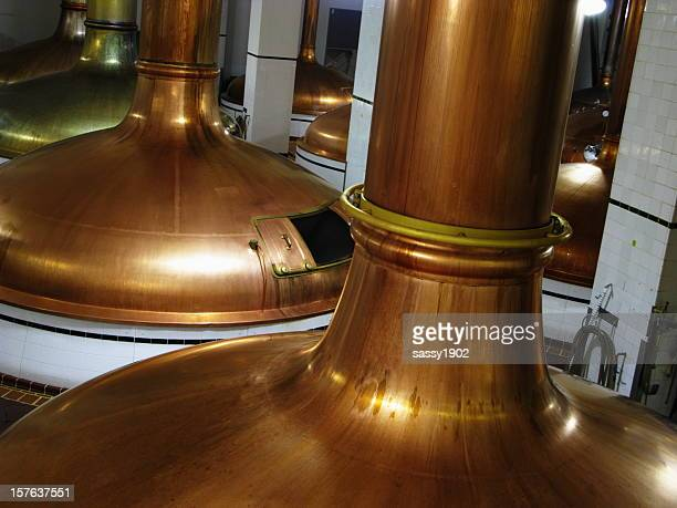 Brewery Beer Copper Vats  Kettle Production Equipment