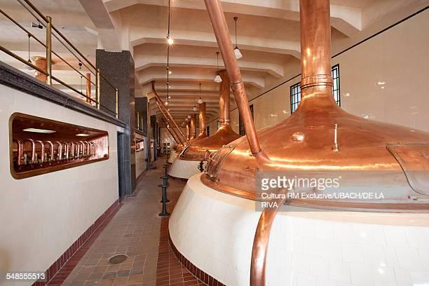 Brewery vats, Bohemia, Czech Republic