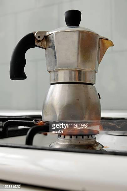 Preparar café expresso italiano