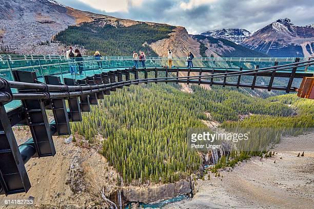Brewster Glacier Skywalk,Alberta