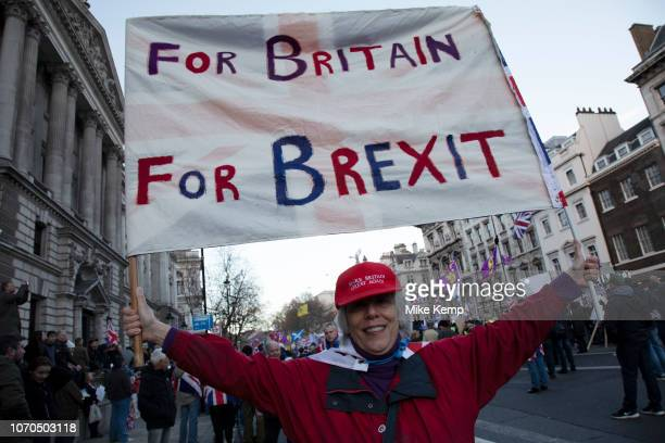 Brexit Betrayal March Brexit Means Exit organised by the UK Independence Party described as a crossparty people's rally to show our MPs that the 174...