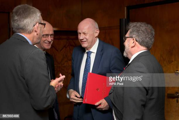 Brexit Minister Michael Russell and Scotland's Deputy First Minister John Swinney meet First Secretary of State Damien Green and Scottish Secretary...