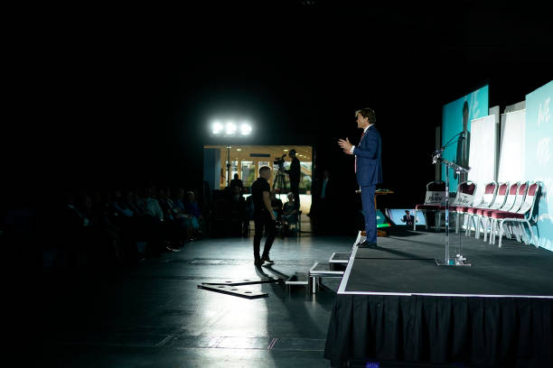 GBR: The Brexit Party Conference Tour - Telford