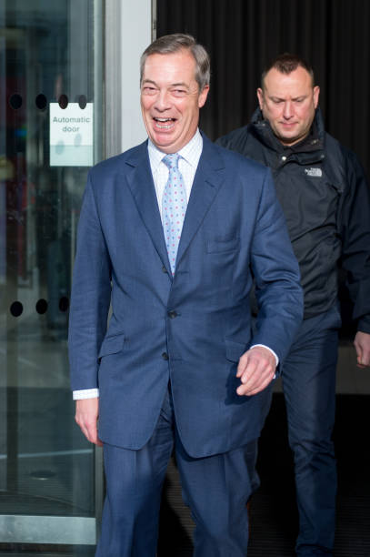 GBR: Guests Arrive At BBC To Appear On The Andrew Marr Show