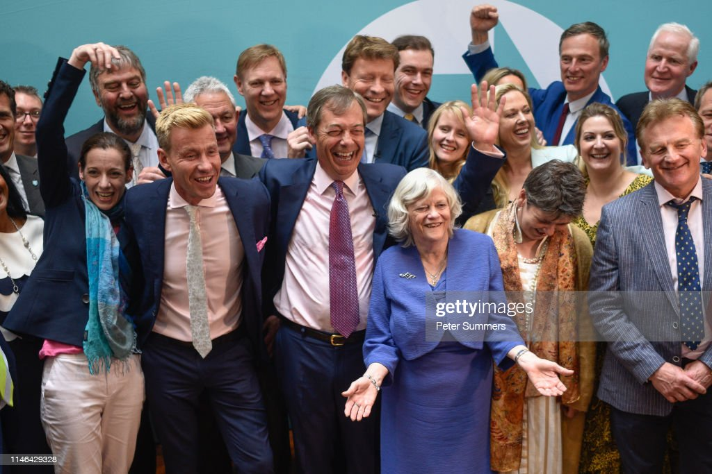 Brexit Party Holds A Post EU Election Results Event : News Photo