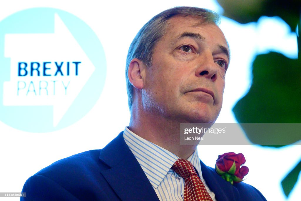 GBR: Farage Launches Brexit Party Candidates For The EU Elections