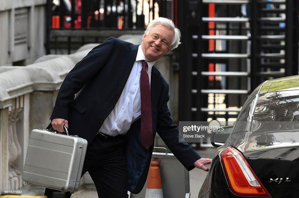 Brexit Secretary David Davis... : News Photo