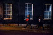 brexit secretary stephen barclay arrives at