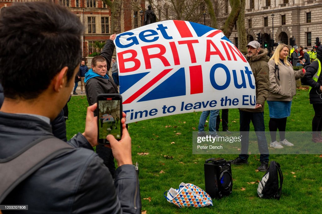 The Final Countdown To Brexit : News Photo