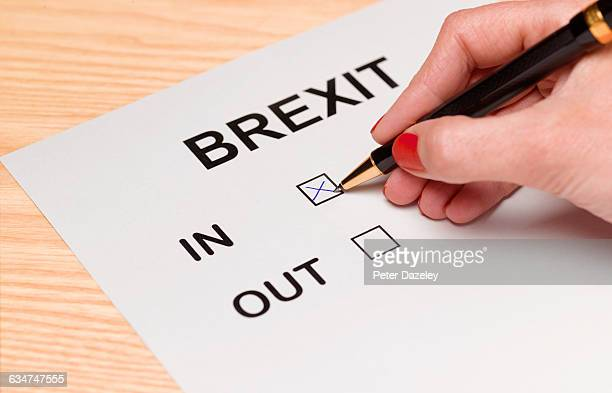 Brexit vote in