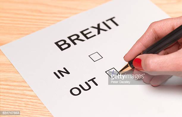 Brexit vote out
