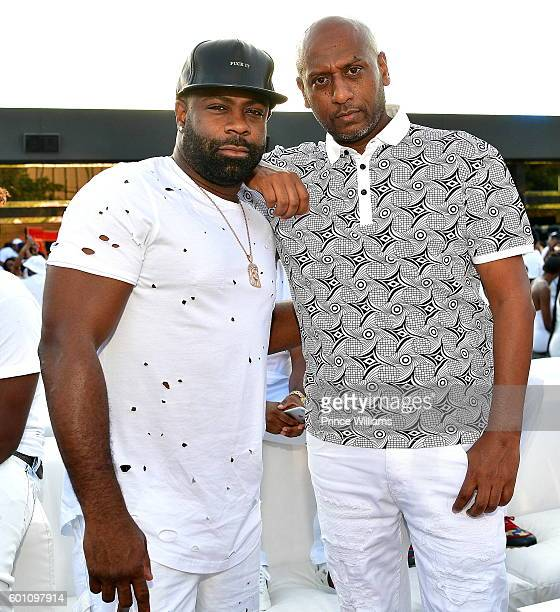 Breyon Prescott and Alex Gidewon Attend the LudaDay weekend all White Finale at Compound on September 2 2016 in Atlanta Georgia