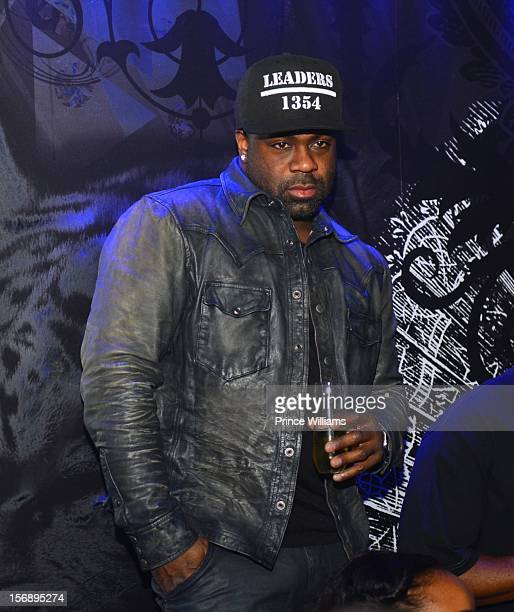 Breyon Prescott attends party hosted by LaLa at Reign Nightclub on November 23 2012 in Atlanta Georgia
