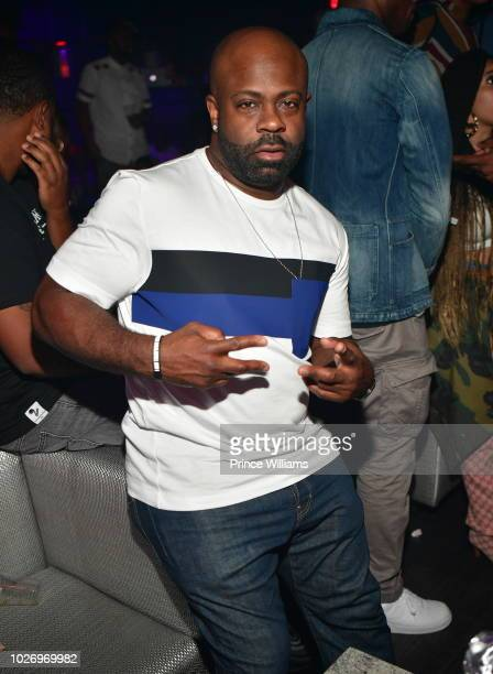 Breyon Prescott attends The After Party at SL Lounge on August 26 2018 in Atlanta Georgia