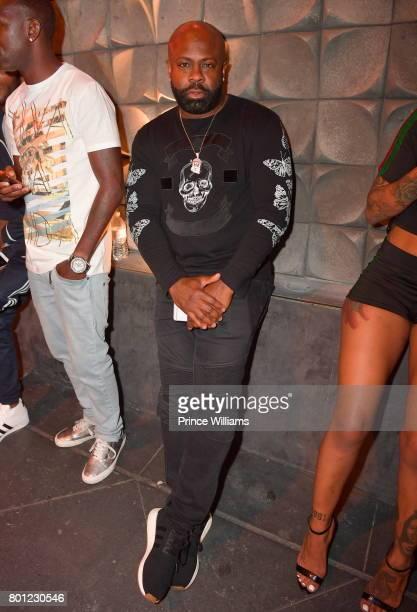 Breyon Prescott Seen at Blind Dragon Nightclub on June 23 2017 in Los Angeles California