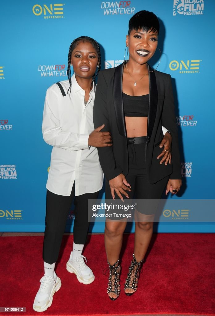 """TV One Premieres """"Down For Whatever"""" At The American Black Film Festival Spotlight Screening : News Photo"""