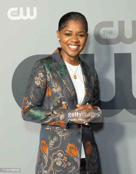 BreZ attends CW Network Upfront at New York City Center