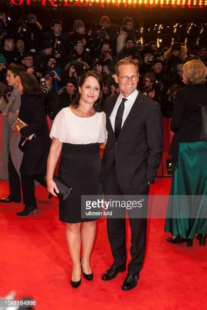 Bürgermeister Müller und Ehefrau Claudia Müller auf der Eröffnung der Berlinale 2017