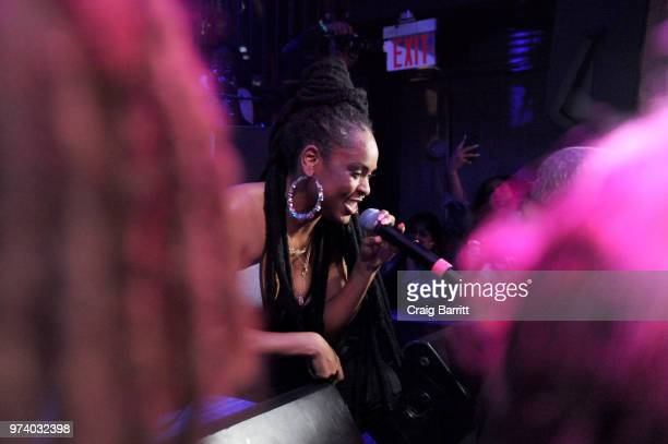 Bri Steves performs onstage at the Atlantic Records 'Access Granted' Showcase on June 13 2018 in New York City