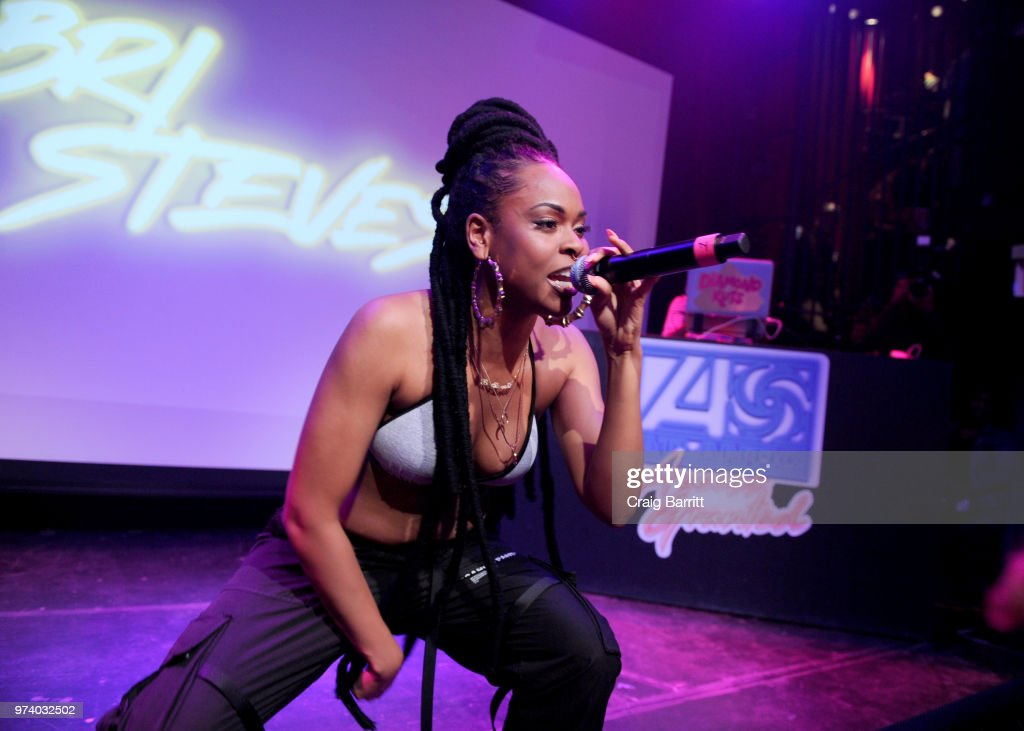 Bri Steves performs onstage at the Atlantic Records 'Access Granted' Showcase on June 13, 2018 in New York City.
