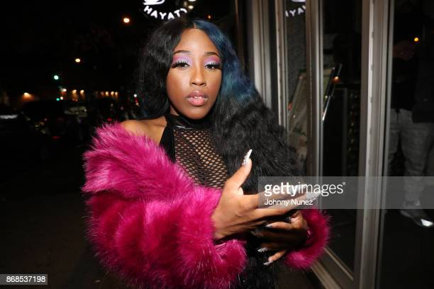 Bri Taylor attends the 'Love and Hip Hop' Viewing Masquerade Party at Hayaty NYC on October 30 2017 in New York City