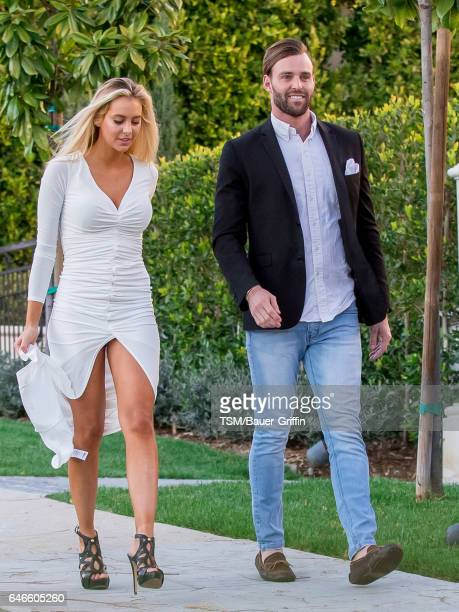 Bri Teresi and Robby Hayes are seen on February 28 2017 in Los Angeles California