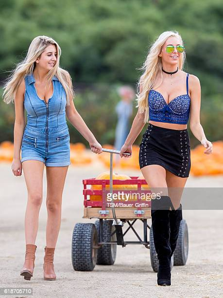Bri Teresi and sister Katie Teresi are seen on October 27 2016 in Los Angeles California