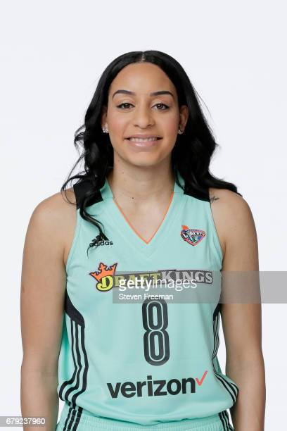 Bria Hartley of the New York Liberty poses for a portrait at Media Day at MSG Training Center on May 4 2017 in Tarrytown New York NOTE TO USER User...