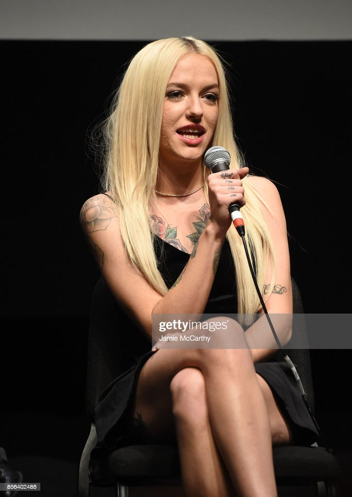Bria Vinaite attend 55th New York Film Festival - 'The Florida Project' at Alice Tully Hall on October 1, 2017 in New York City.