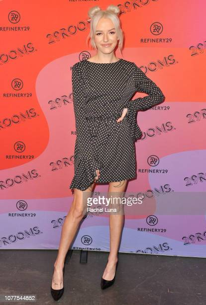Bria Vinaite attends Refinery29's 29Rooms Los Angeles 2018 Expand Your Reality at The Reef on December 04 2018 in Los Angeles California