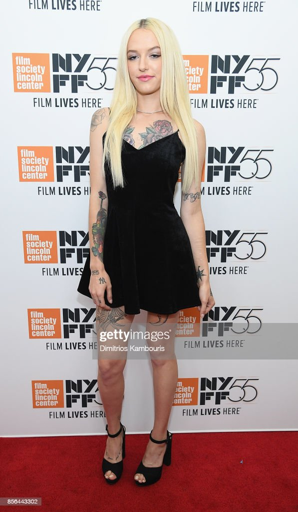 Bria Vinaite attends The 55th New York Film Festival - 'The Florida Project' at Alice Tully Hall on October 1, 2017 in New York City.